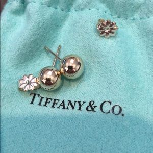 AUTHENTIC TIFFANY & CO BALL EARRINGS